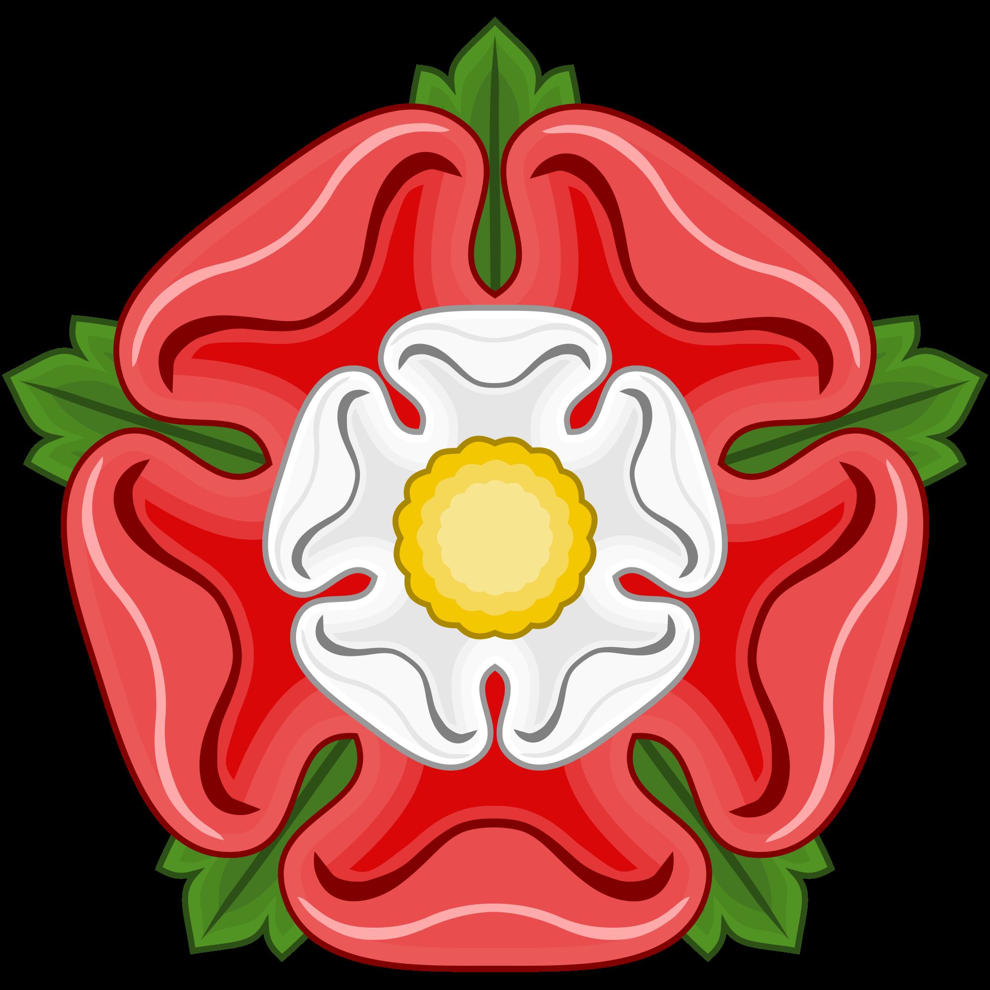 English Tudor Rose Logo